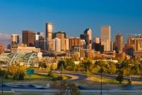 Denver skyline, Colorado, USA